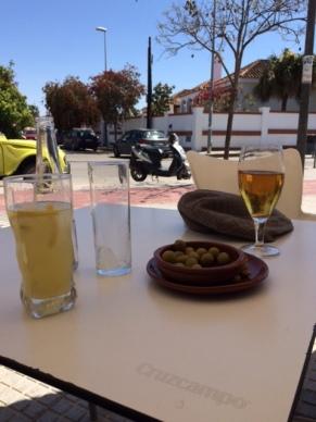 cafe on Sunday afternoon