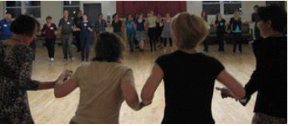folkdancers